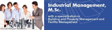 Master Industrial Management mit Fachvertieung Immobilienmanagment und Facilities Management